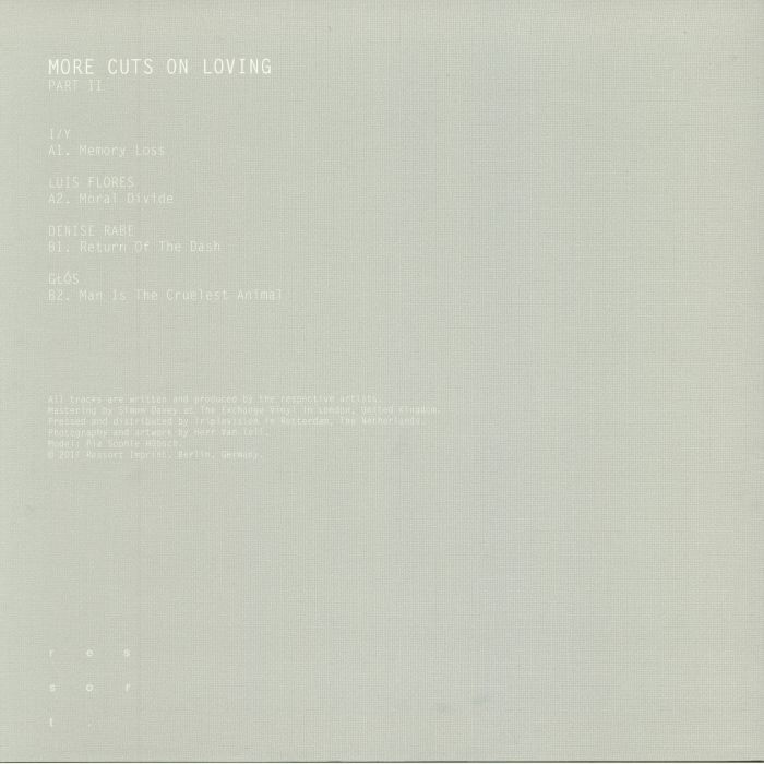 I/Y/LUIS FLORES/DENISE RABE/GLOS - More Cuts On Loving Part II