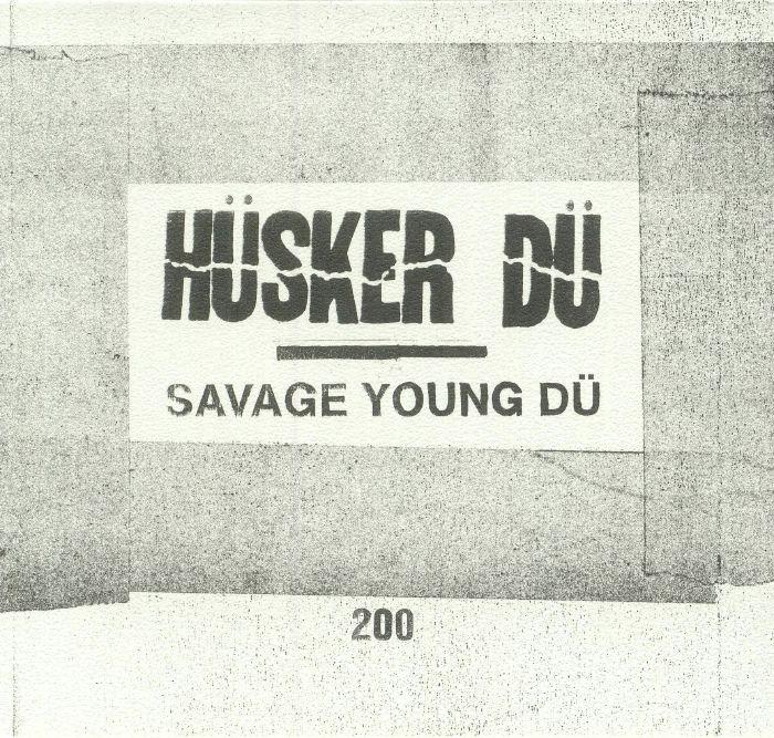 HUSKER DU - Savage Young Du