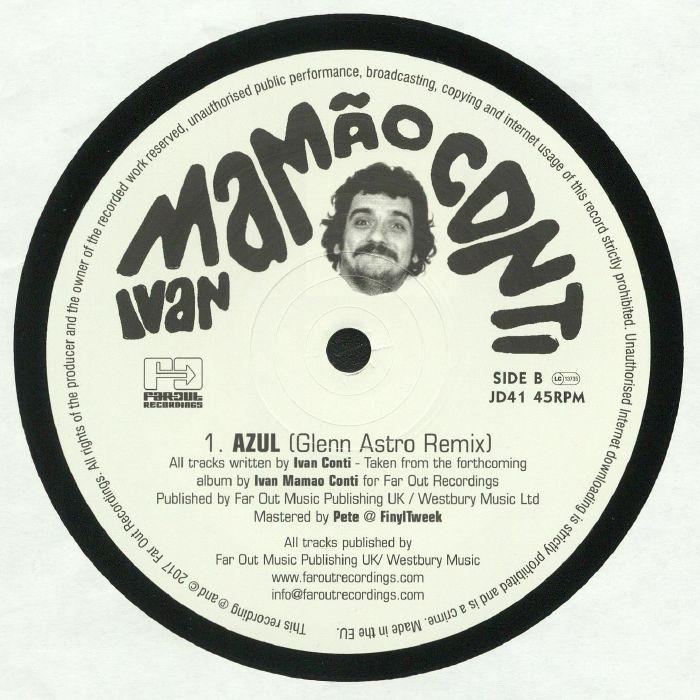 Poison Fruit Ivan Conti: Ivan CONTI Azul (remixes) Vinyl At Juno Records