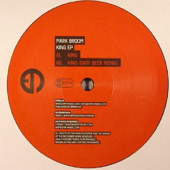 BROOM, Mark - King EP