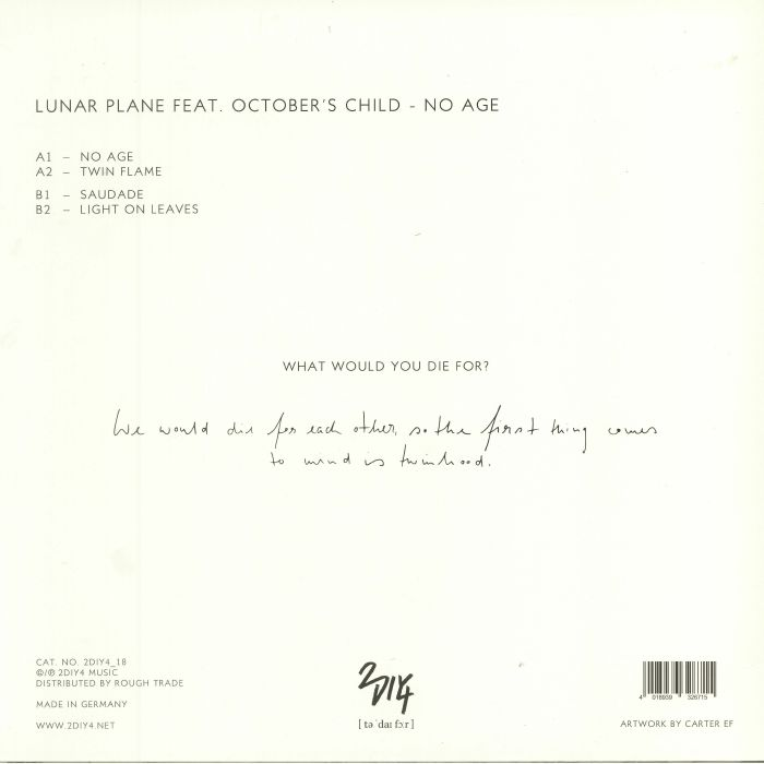 LUNAR PLANE feat OCTOBERS CHILD - No Age