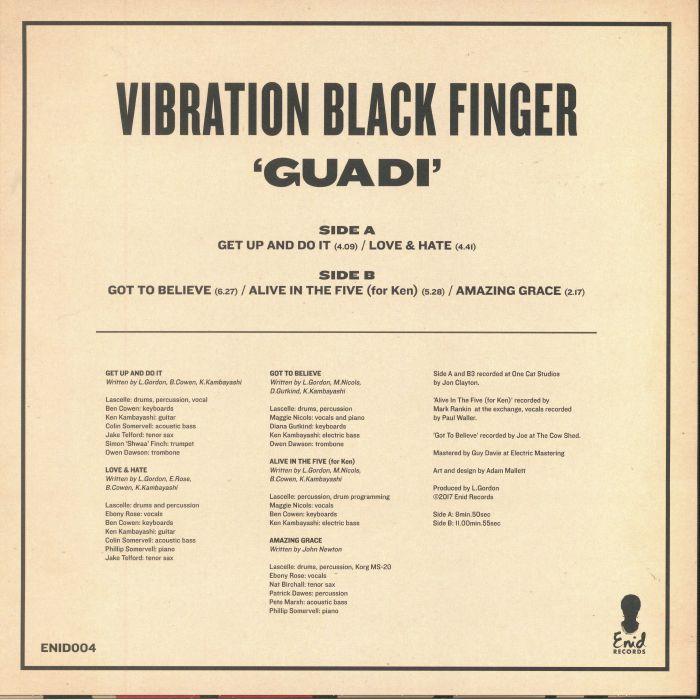 VIBRATION BLACK FINGER - Guadi