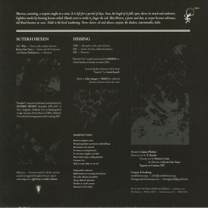 SUTEKH HEXEN/HISSING - Sutekh Hexen/Hissing