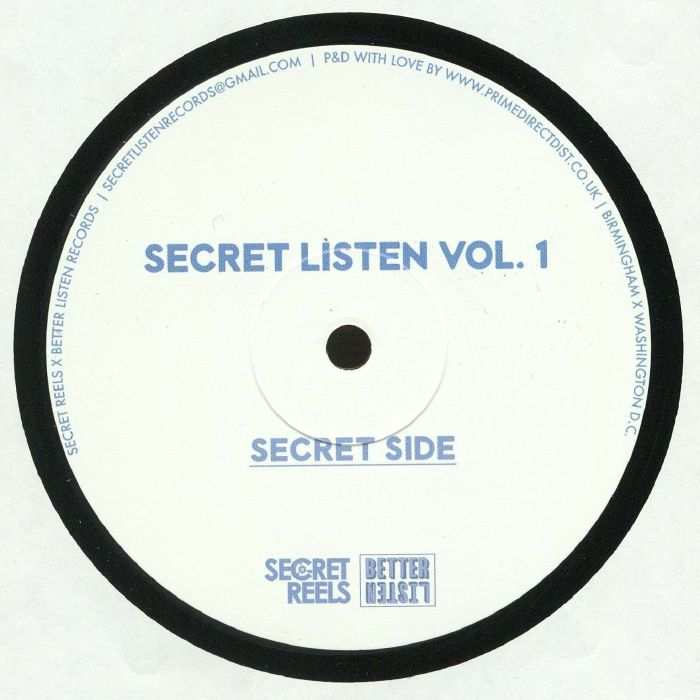 WOLFMAN, Harry/CHOCKY/SUNE/VITAMIN D - Secret Listen Vol 1