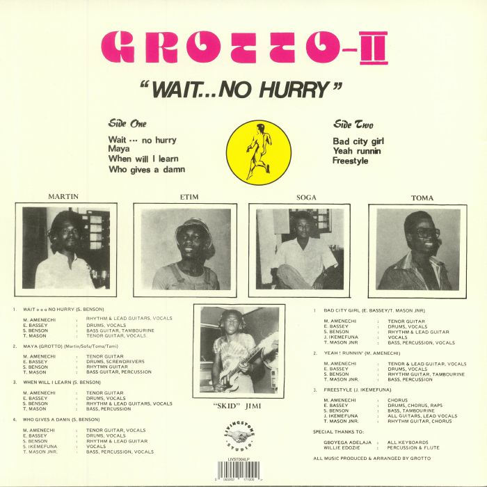 GROTTO - Wait No Hurry (reissue)