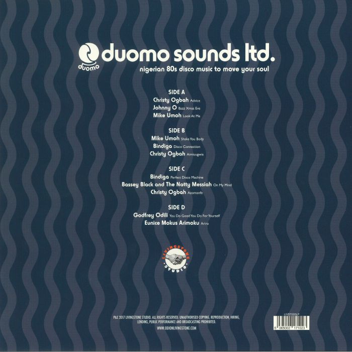 VARIOUS - Duomo Sounds Ltd: Nigerian 80s Disco Music To Move Your Soul