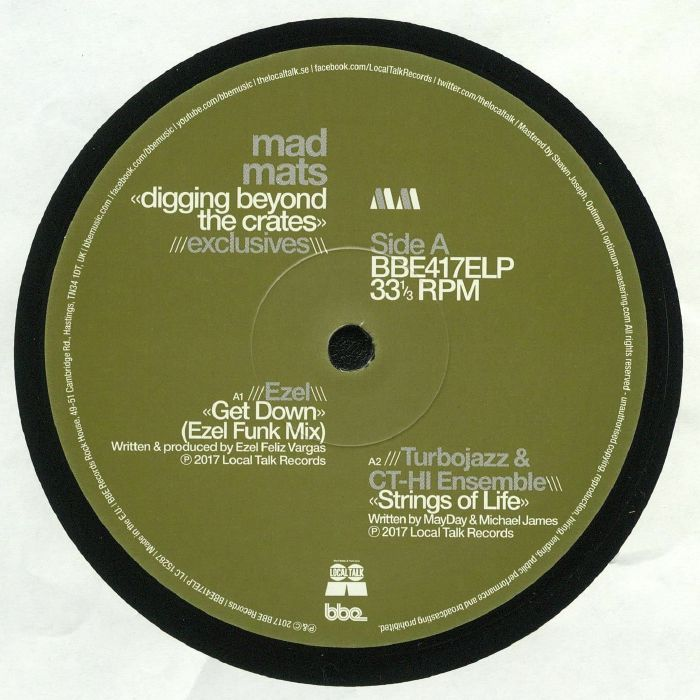 MAD MATS/EZEL/TURBOJAZZ/CT HI ENSEMBLE/OSSIE/BILL LAURANCE - Digging Beyond The Crates: Exclusives