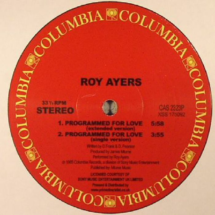 AYERS, Roy - Programmed For Love