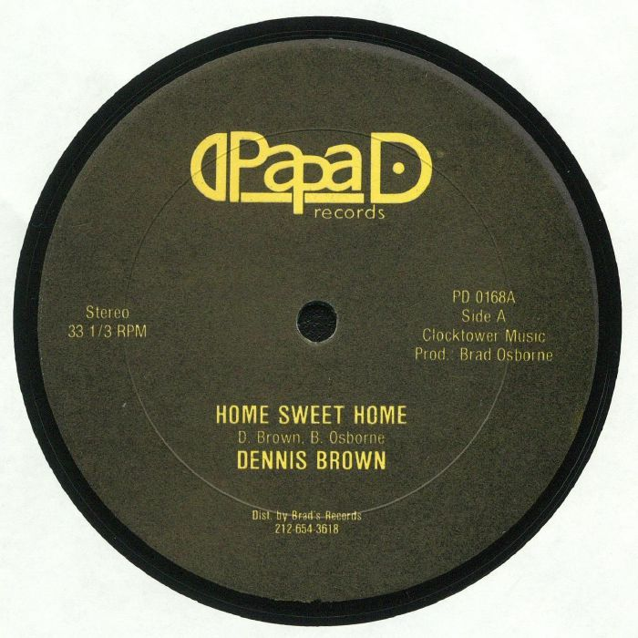 BROWN, Dennis/PAPPA IRON/DUBWISE - Home Sweet Home