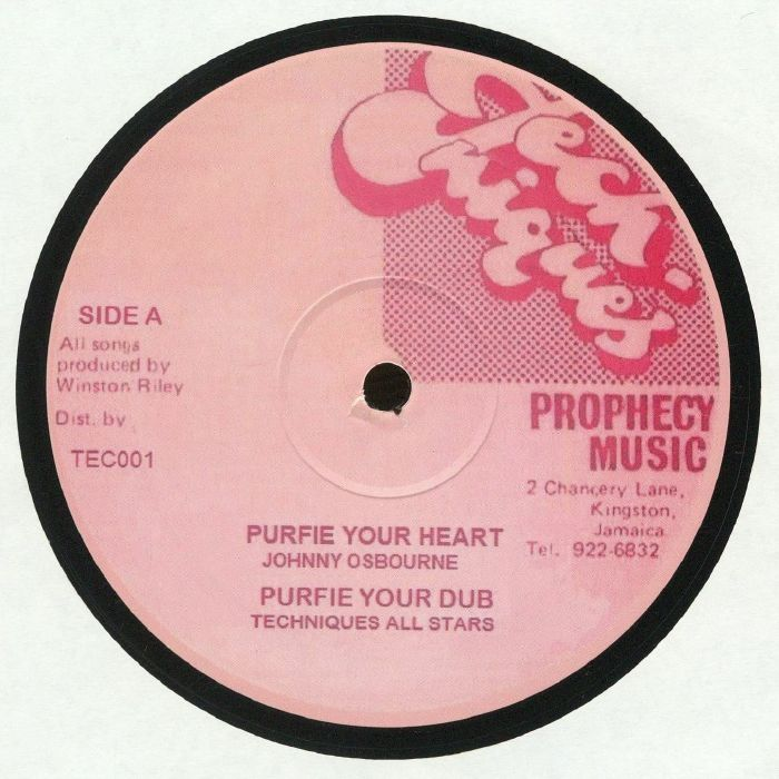 OSBOURNE, Johnny/TECHNIQUES ALL STARS/JIMMY RILEY - Purify Your Heart