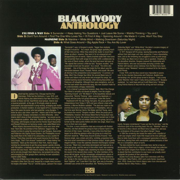 BLACK IVORY - Anthology