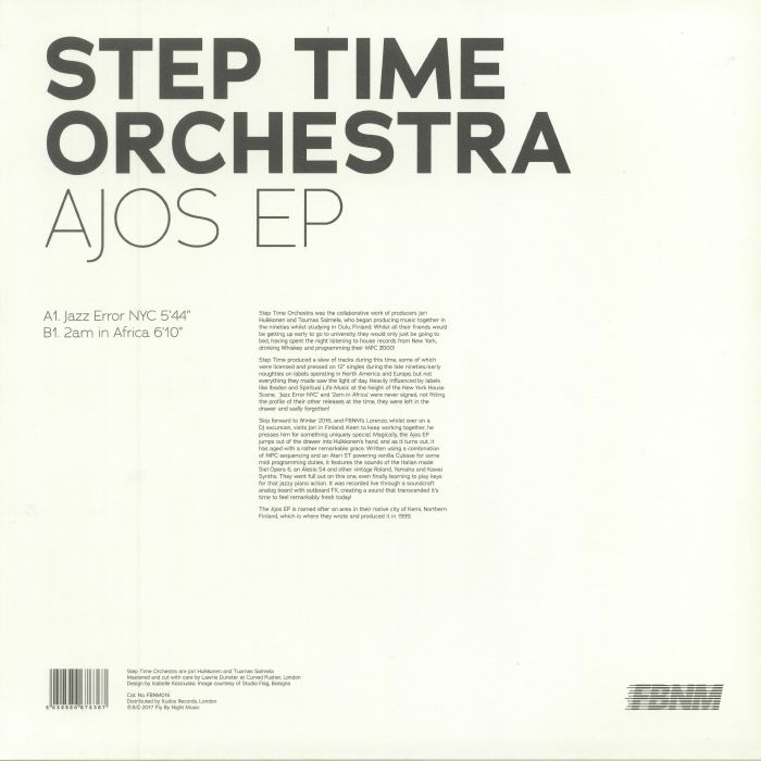 STEP TIME ORCHESTRA - Ajos EP