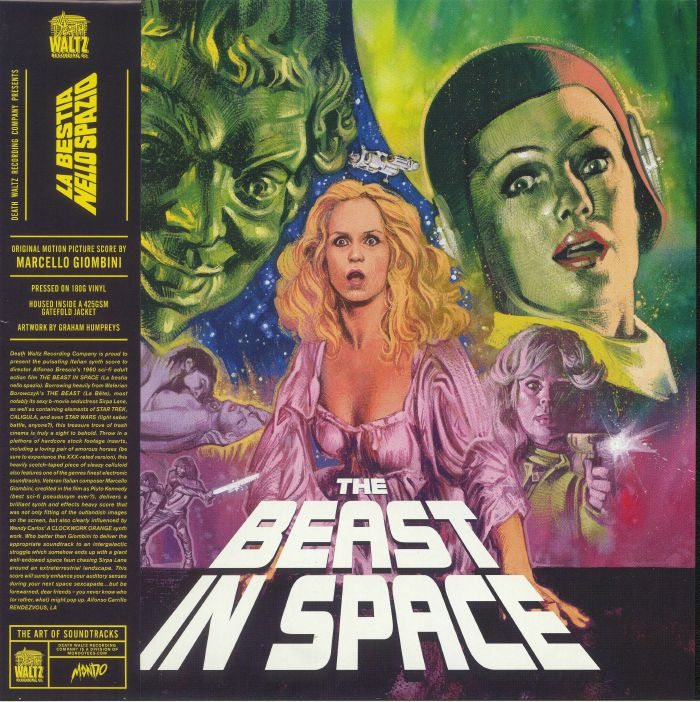GIOMBINI, Marcello - The Beast In Space (Soundtrack)