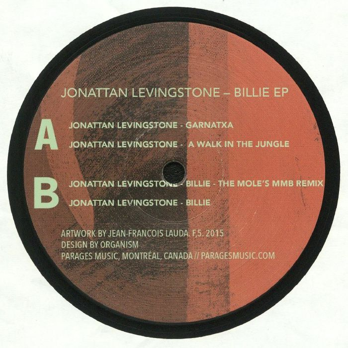LEVINGSTONE, Jonattan - Billie EP