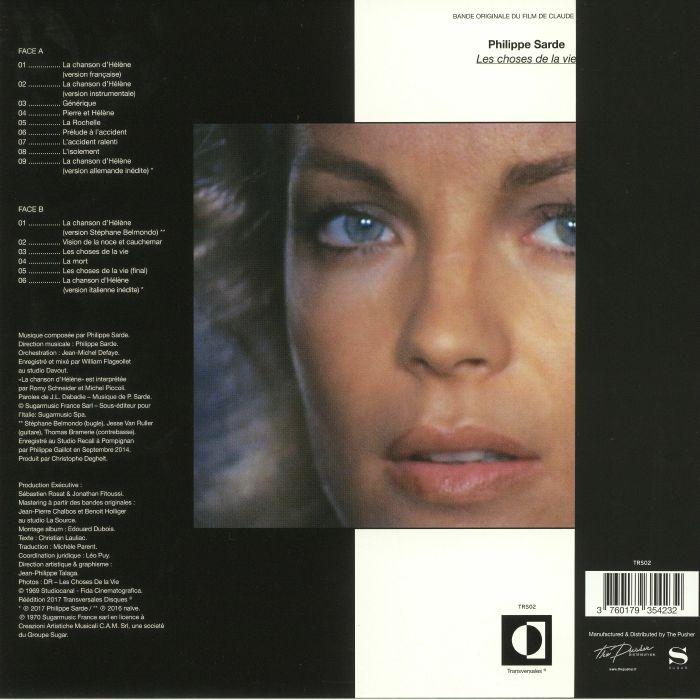 SARDE, Philippe - Les Choses De La Vie (Soundtrack)