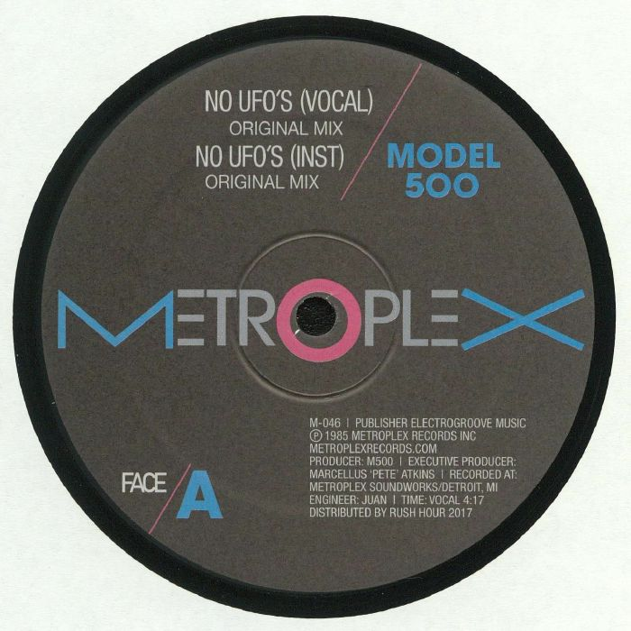 Model 500 - No Ufo's Remixes (Metroplex)