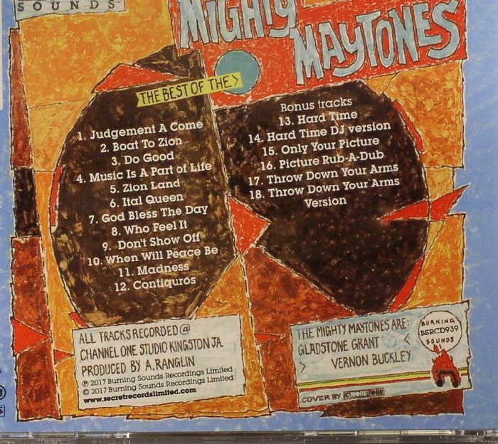 MAYTONES, The - The Best Of The Maytones