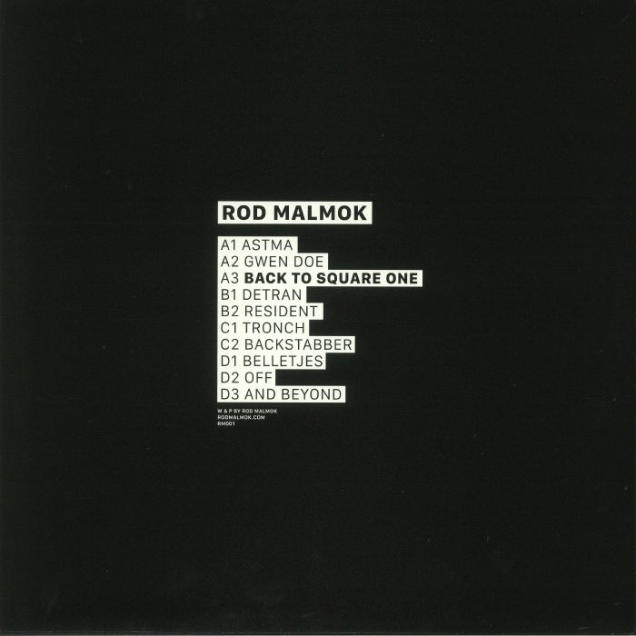 ROD MALMOK - Back To Square One