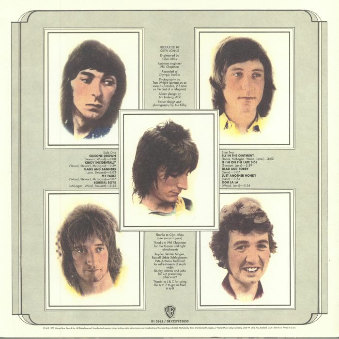 FACES - Ooh La La (reissue)