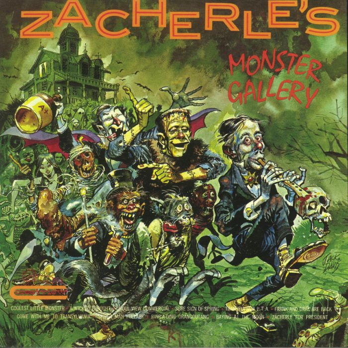 ZACHERLE, John - Zacherle's Monster Gallery