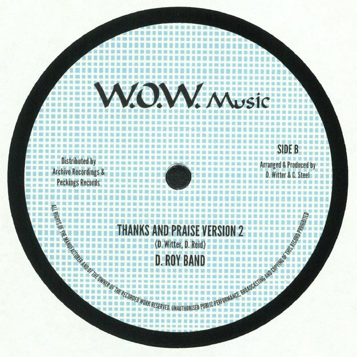 REID, Junior - Thanks & Praise (reissue)
