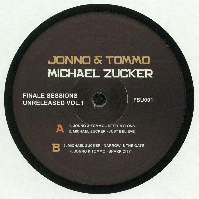 JONNO & TOMMO/MICHAEL ZUCKER - Finale Sessions Unreleased Vol 1
