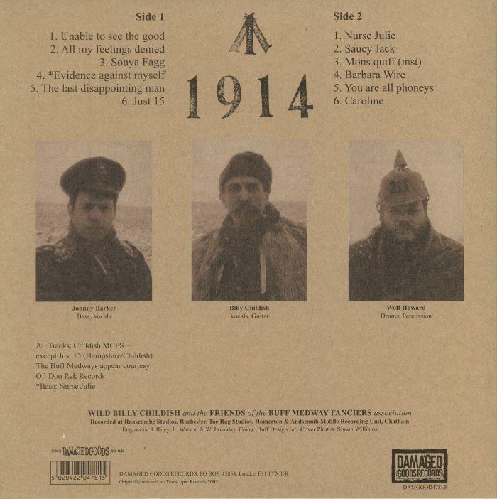 WILD BILLY CHILDISH & THE BUFF MEDWAYS - 1914 (reissue)