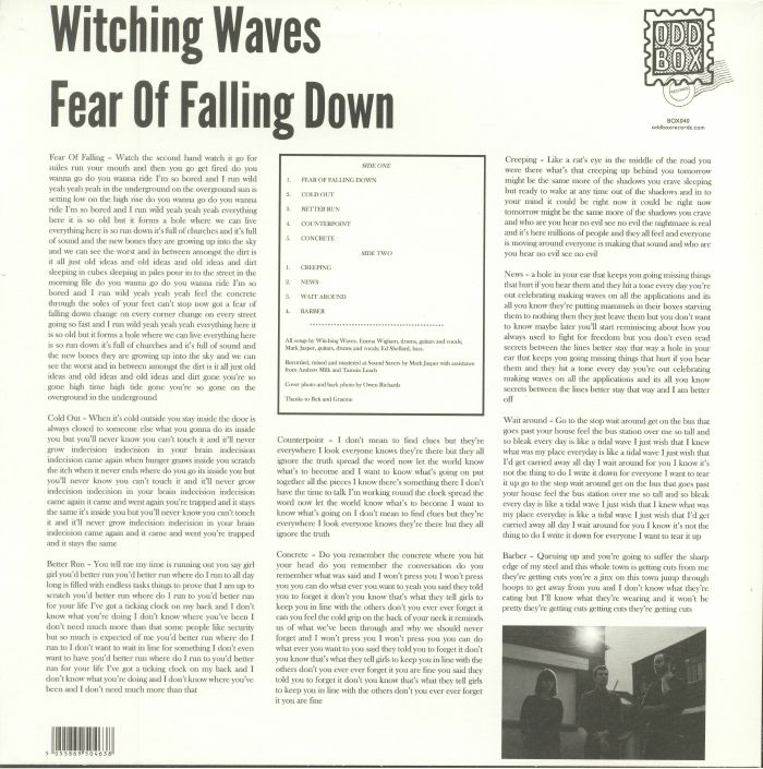 WITCHING WAVES - Fear Of Falling Down (reissue)