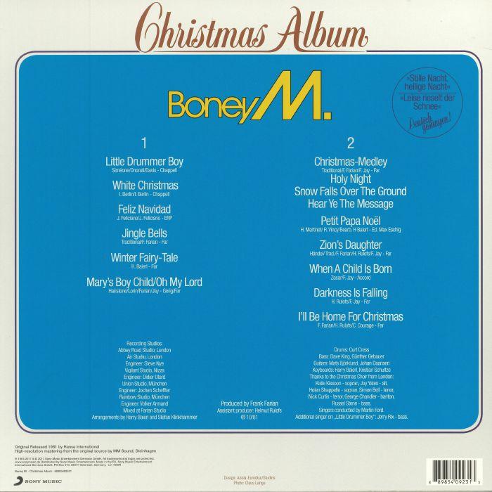 BONEY M Christmas Album (reissue) vinyl at Juno Records.