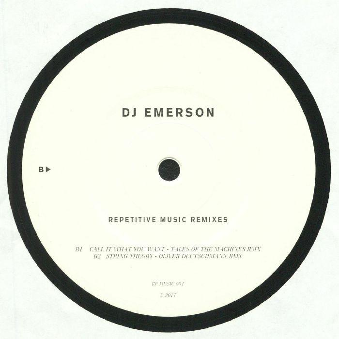 DJ EMERSON - Repetitive Music Remixes