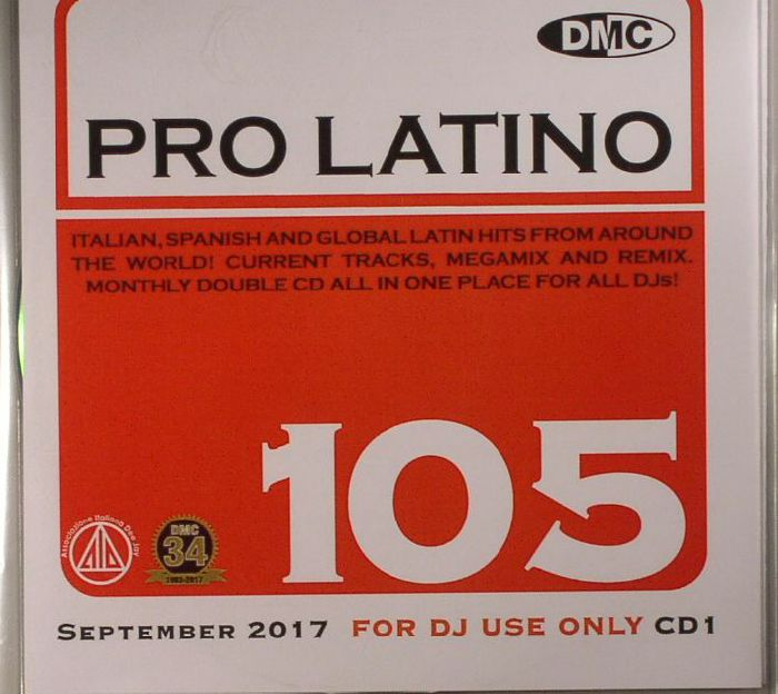 VARIOUS - DMC Pro Latino 105 (Strictly DJ Only)