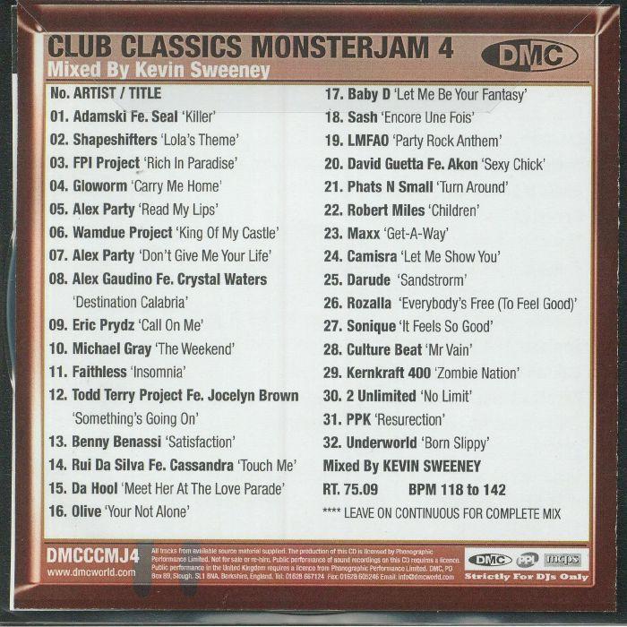 VARIOUS - DMC Club Classics Monsterjam Vol 4 (Strictly DJ Only)