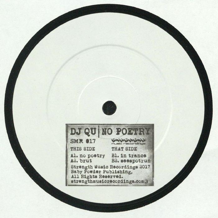 DJ Qu - No Poetry (Strength Music Recordings)