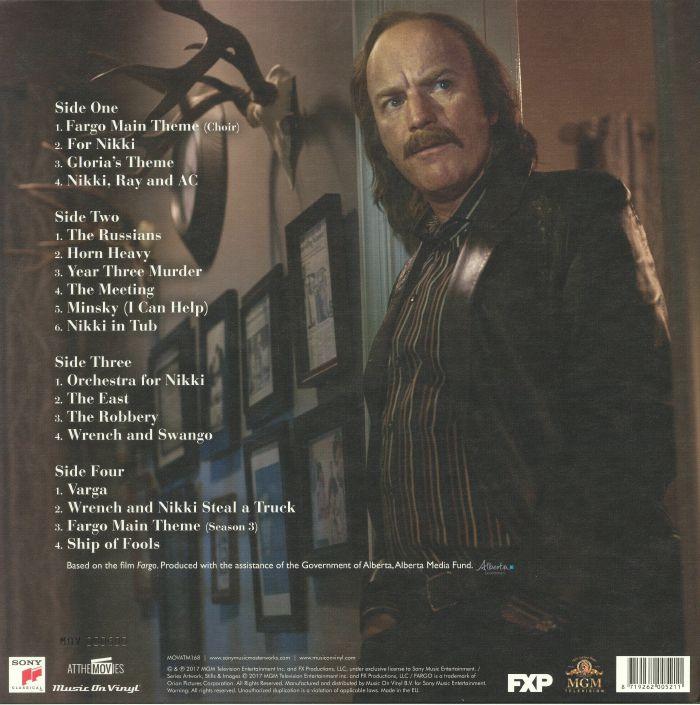 RUSSO, Jeff - Fargo Year 3 (Soundtrack)