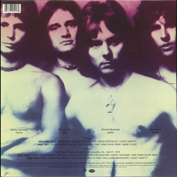MONTROSE - Montrose (Deluxe Edition) (remastered)