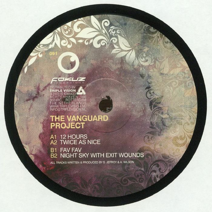 VANGUARD PROJECT, The - Twice As Nice EP