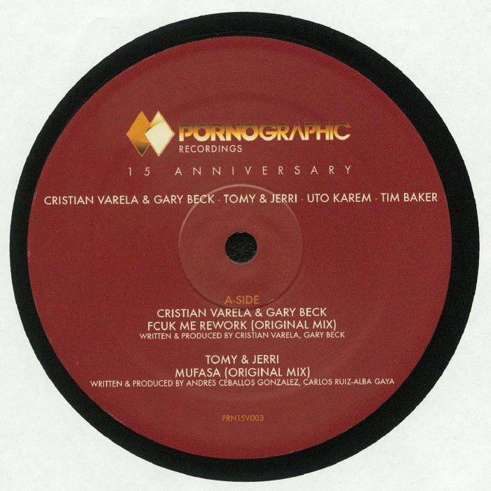 VARELA, Cristian/GARY BECK/TOMY & JERRI/UTO KAREM/TIM BAKER - Pornographic Recordings 15 Anniversary: Disc 3