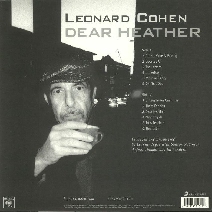 COHEN, Leonard - Dear Heather (reissue)