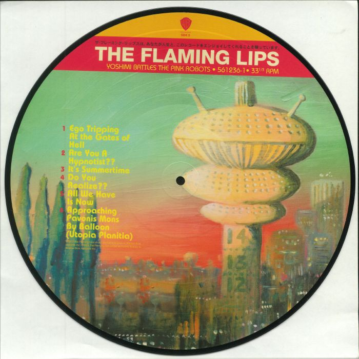FLAMING LIPS, The - Yoshimi Battles The Pink Robots (reissue)