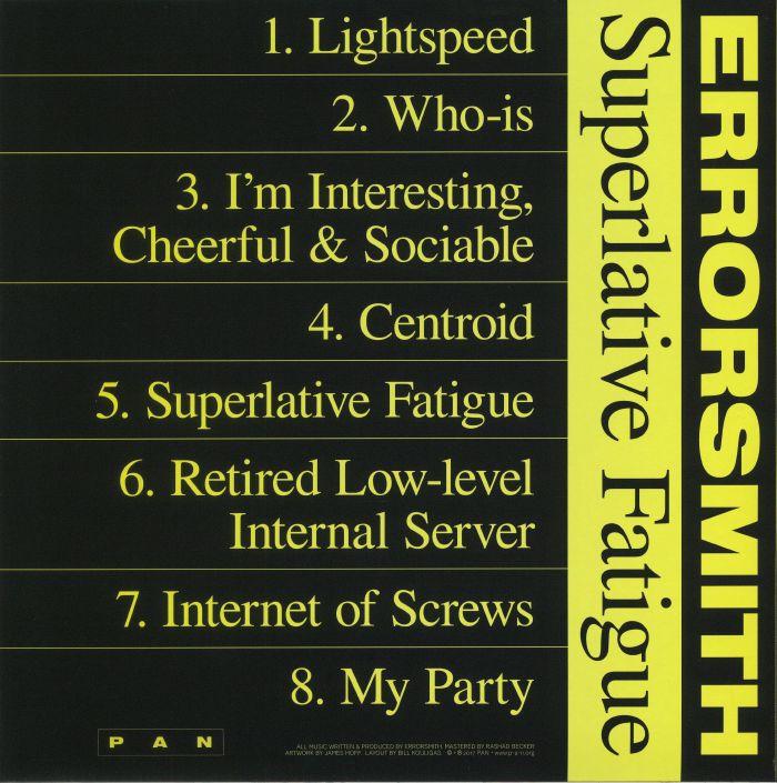 ERRORSMITH - Superlative Fatigue