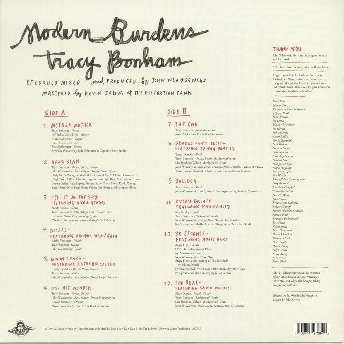 BONHAM, Tracy - Modern Burdens