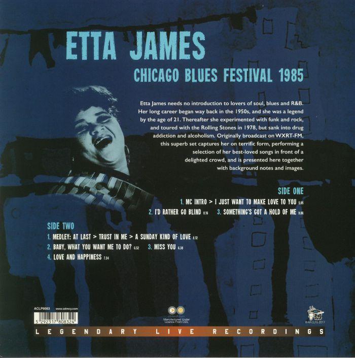 JAMES, Etta - Chicago Blues Festival 1985