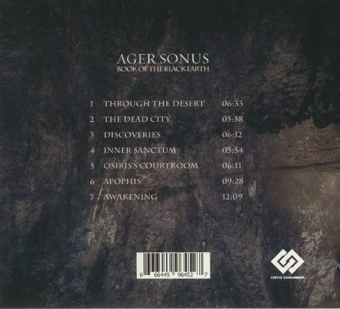 AGER SONUS - Book Of The Black Earth