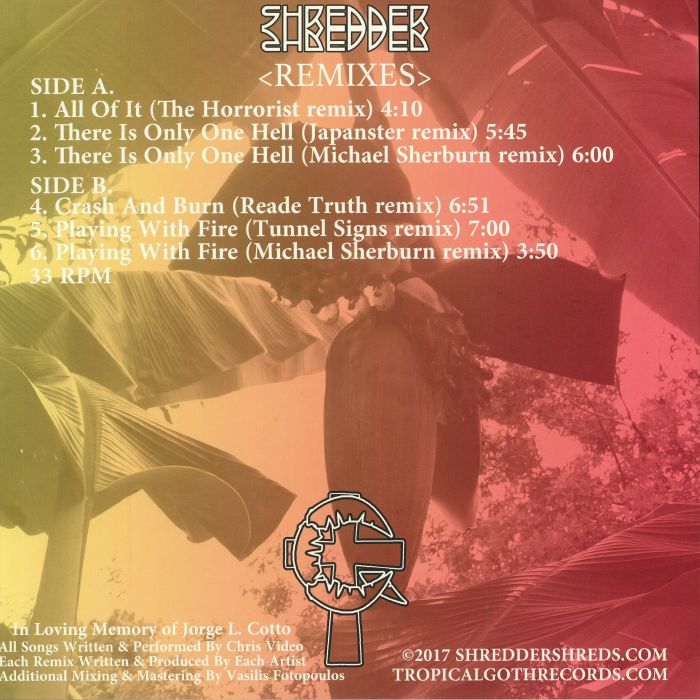 SHREDDER - Remixes