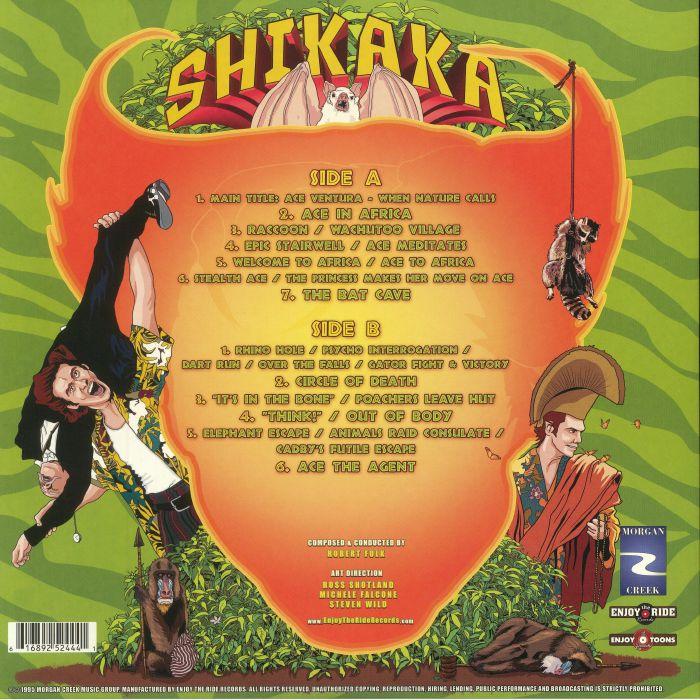 Robert Folk Ace Ventura When Nature Calls Soundtrack
