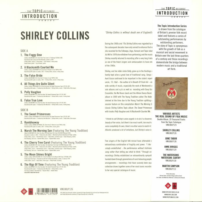 COLLINS, Shirley - An Introduction To Shirley Collins