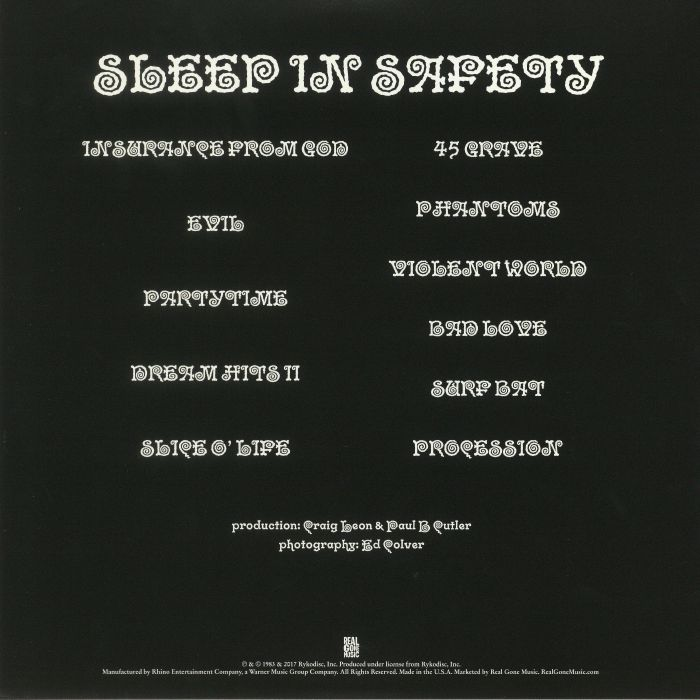 45 GRAVE - Sleep In Safety
