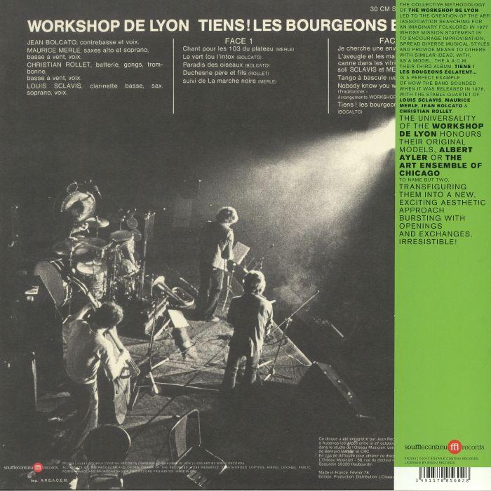 WORKSHOP DE LYON - Tiens! Les Bourgeons Eclatent (reissue)