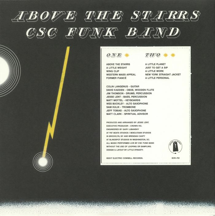 CSC FUNK BAND - Above The Starrs