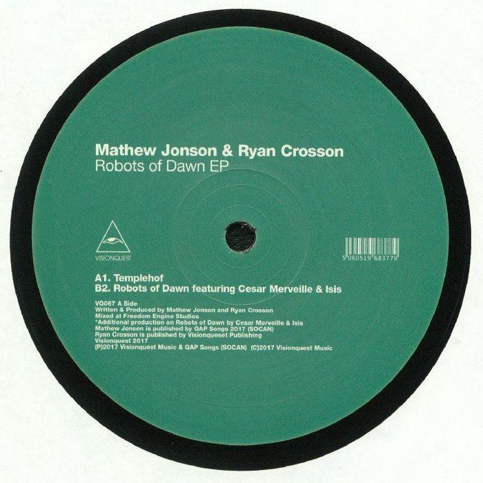 JONSON, Mathew/RYAN CROSSON - Robots Of Dawn EP